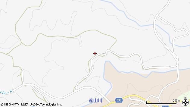 大分県竹田市久住町大字白丹5810周辺の地図