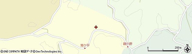 大分県竹田市米納2054周辺の地図