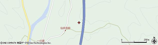 大分県佐伯市弥生大字床木883周辺の地図