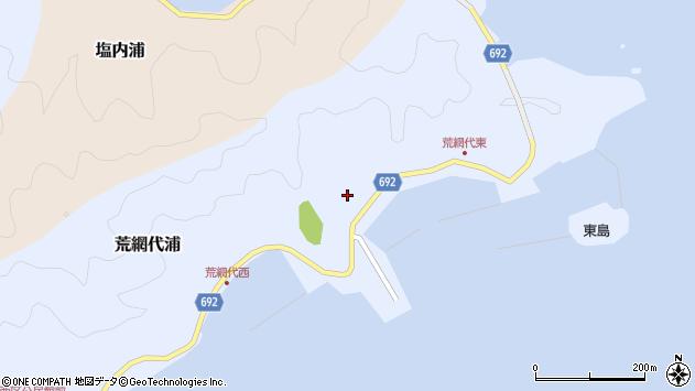 大分県佐伯市荒網代浦167周辺の地図
