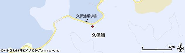 大分県佐伯市久保浦898周辺の地図
