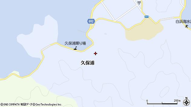 大分県佐伯市久保浦848周辺の地図