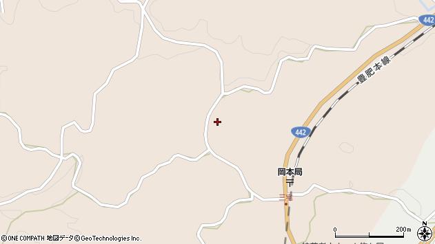 大分県竹田市三宅1152周辺の地図