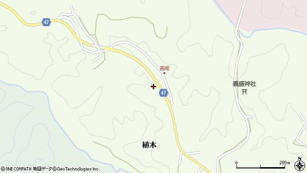 大分県竹田市植木2032周辺の地図