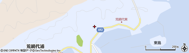 大分県佐伯市荒網代浦134周辺の地図