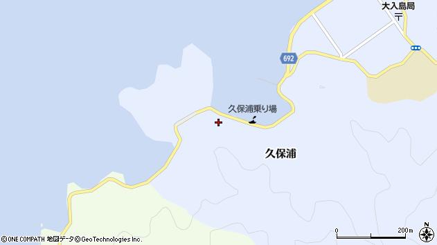 大分県佐伯市久保浦877周辺の地図