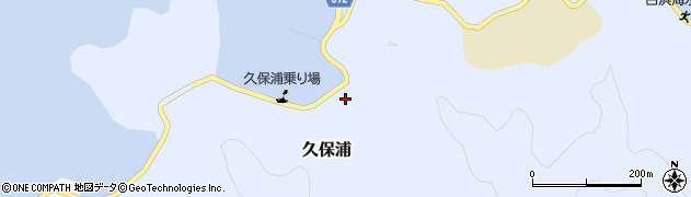 大分県佐伯市久保浦911周辺の地図