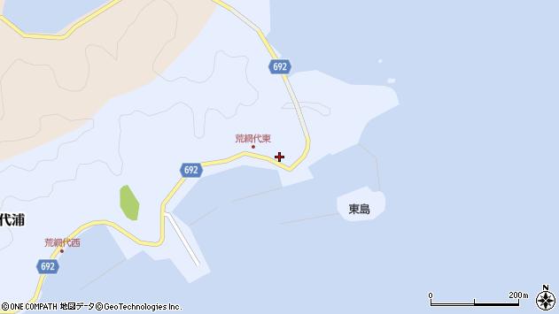 大分県佐伯市荒網代浦39周辺の地図