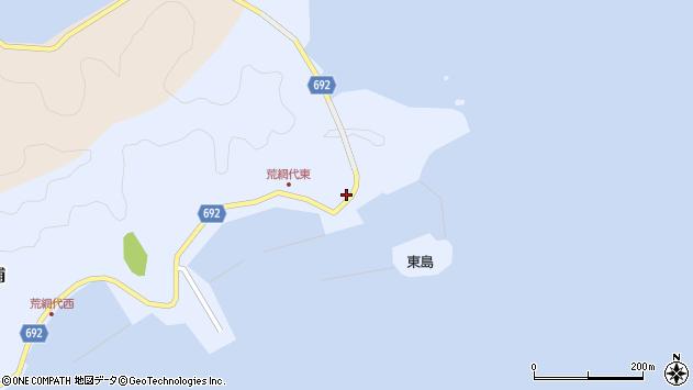 大分県佐伯市荒網代浦31周辺の地図