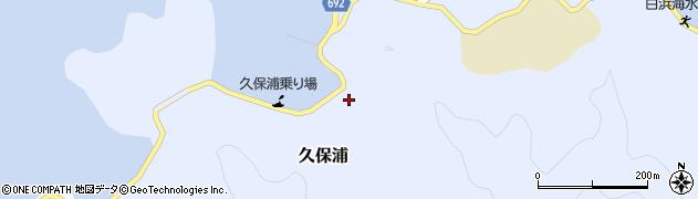 大分県佐伯市久保浦919周辺の地図