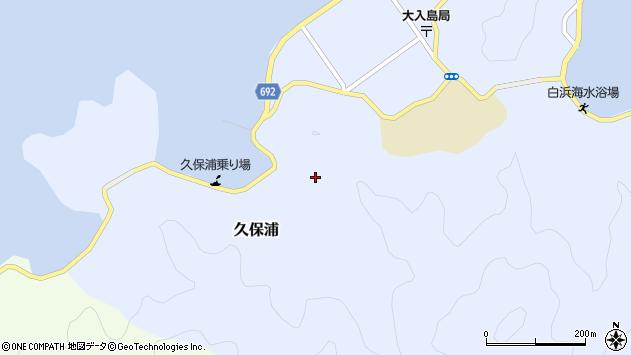 大分県佐伯市久保浦809周辺の地図