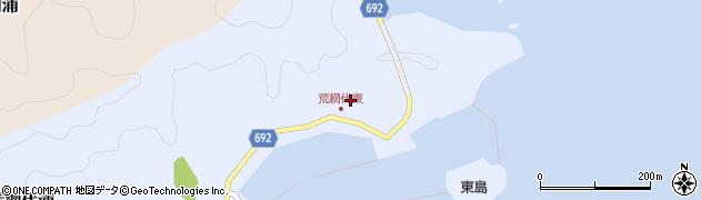 大分県佐伯市荒網代浦51周辺の地図