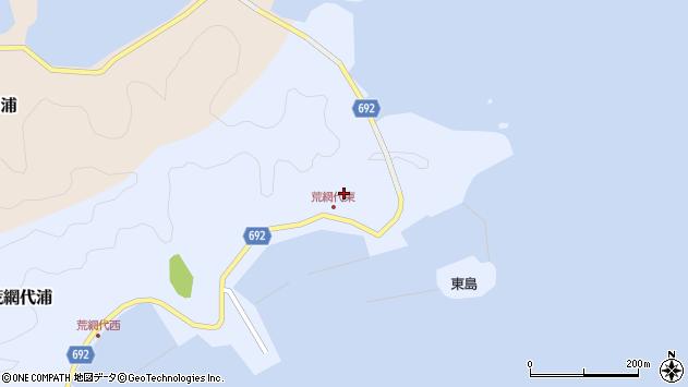 大分県佐伯市荒網代浦71周辺の地図
