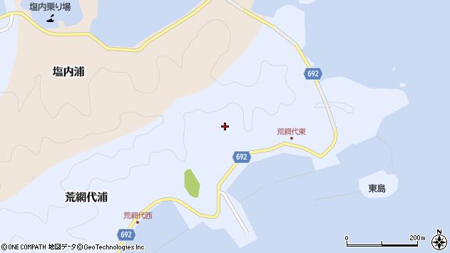 大分県佐伯市荒網代浦219周辺の地図