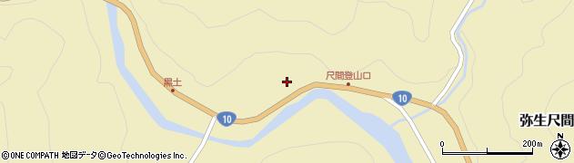 大分県佐伯市弥生大字尺間1087周辺の地図