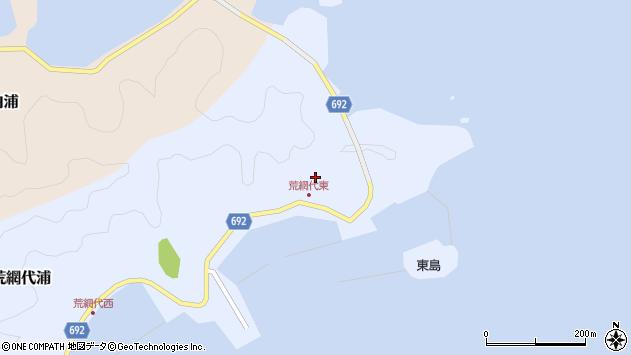 大分県佐伯市荒網代浦72周辺の地図