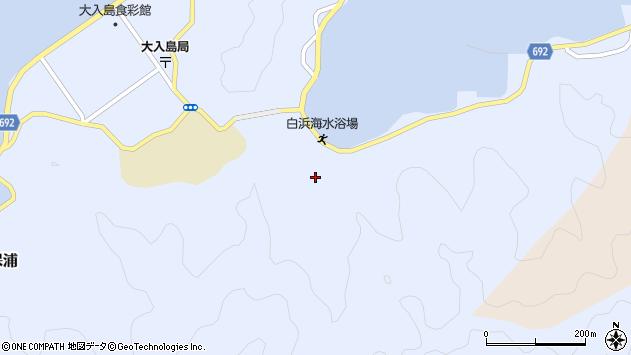 大分県佐伯市片神浦888周辺の地図