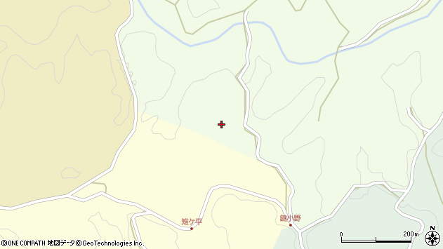 大分県竹田市植木4161周辺の地図