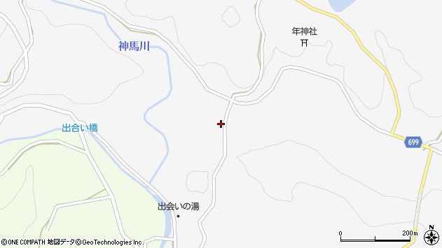 大分県竹田市古園526周辺の地図