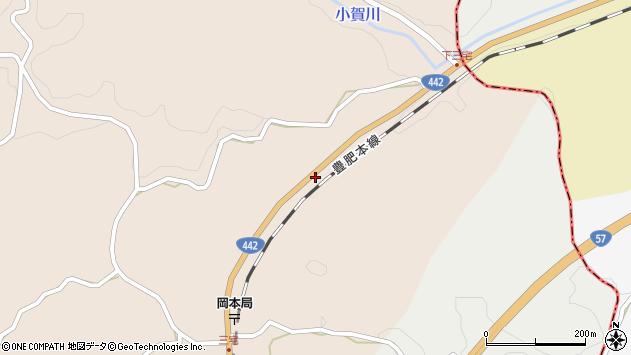 大分県竹田市三宅1042周辺の地図