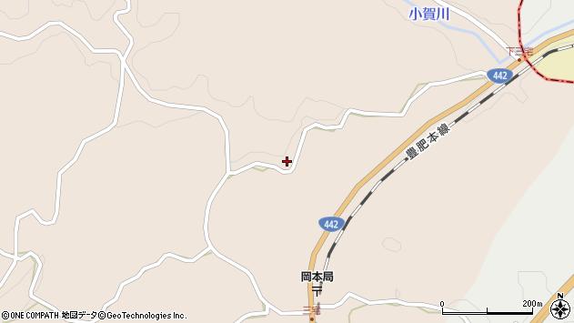 大分県竹田市三宅1077周辺の地図