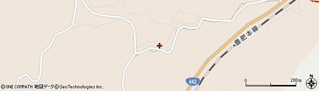 大分県竹田市三宅1096周辺の地図