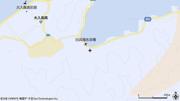 大分県佐伯市片神浦895周辺の地図