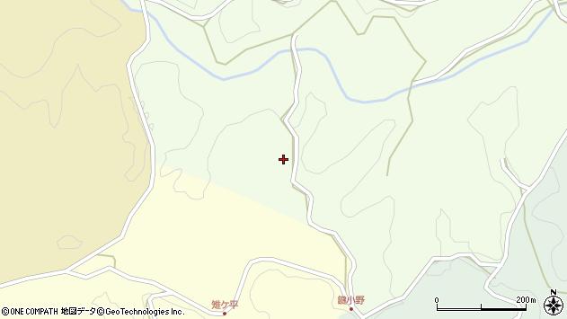 大分県竹田市植木4167周辺の地図