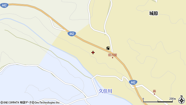大分県竹田市城原2044周辺の地図