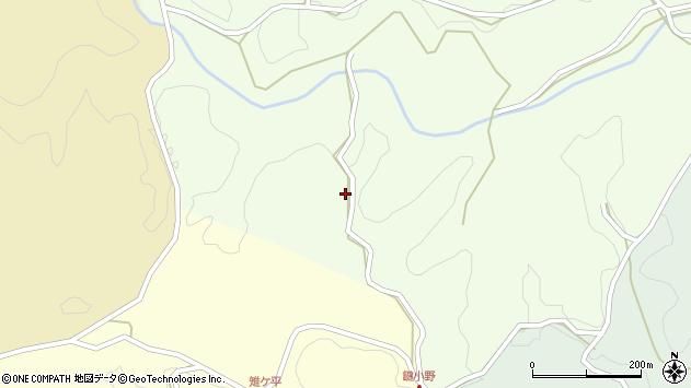 大分県竹田市植木4168周辺の地図