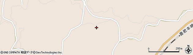 大分県竹田市三宅1183周辺の地図
