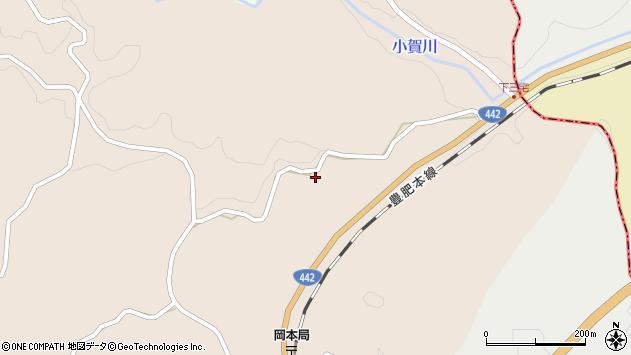大分県竹田市三宅997周辺の地図