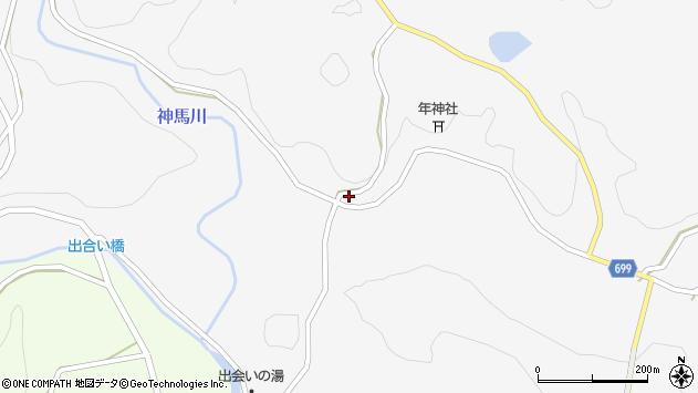 大分県竹田市古園524周辺の地図