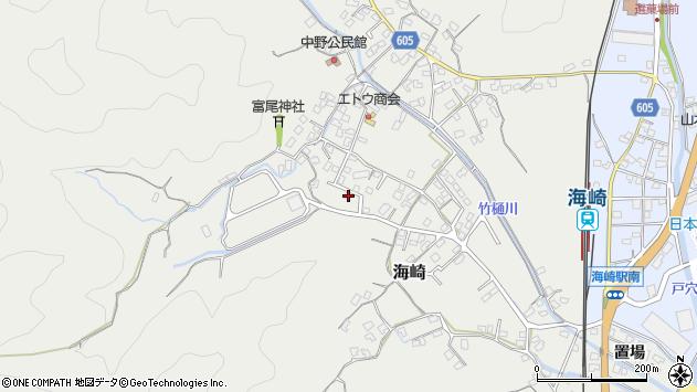 大分県佐伯市海崎2247周辺の地図