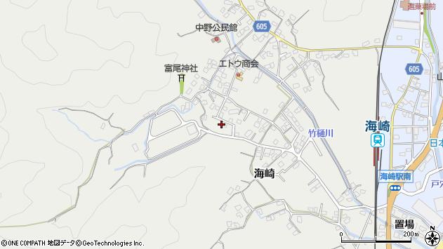 大分県佐伯市海崎2447周辺の地図