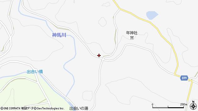 大分県竹田市古園490周辺の地図