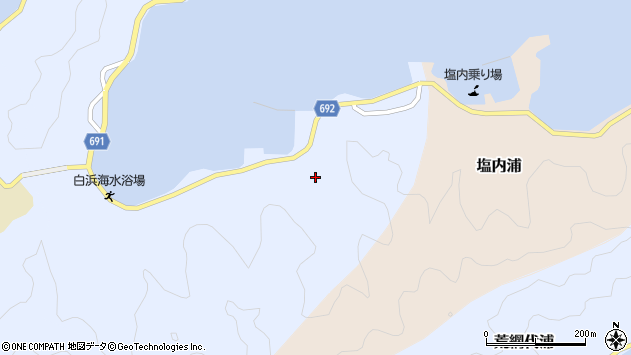 大分県佐伯市片神浦1324周辺の地図