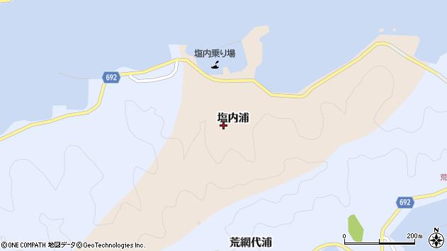 大分県佐伯市塩内浦179周辺の地図