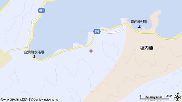 大分県佐伯市片神浦1326周辺の地図