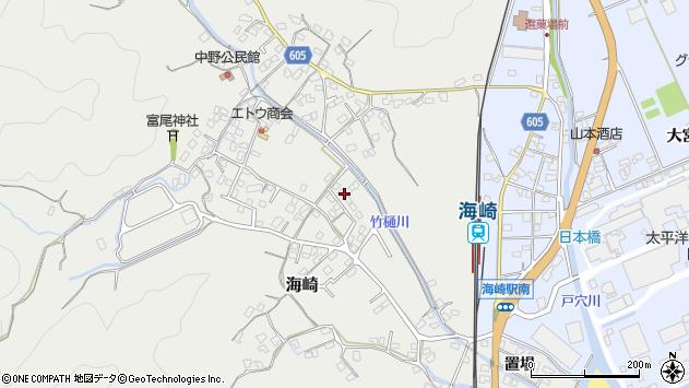 大分県佐伯市海崎2533周辺の地図