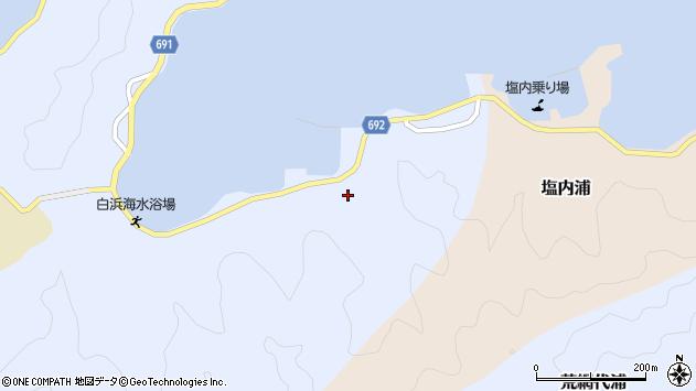 大分県佐伯市片神浦1329周辺の地図