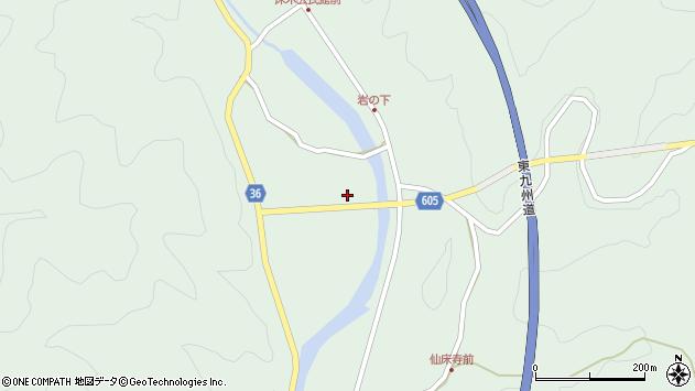 大分県佐伯市弥生大字床木3024周辺の地図