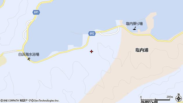 大分県佐伯市片神浦1300周辺の地図