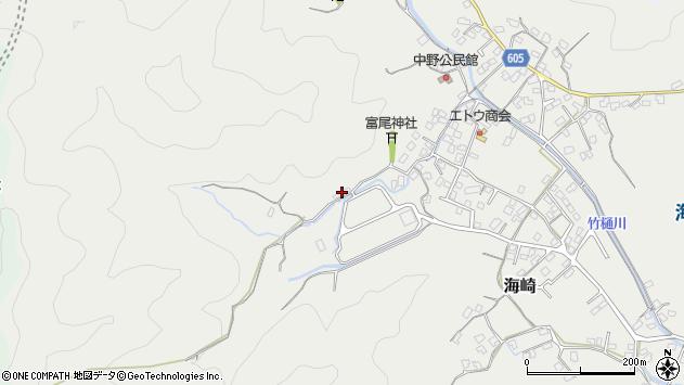 大分県佐伯市海崎2623周辺の地図