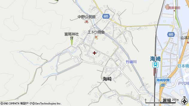 大分県佐伯市海崎2450周辺の地図