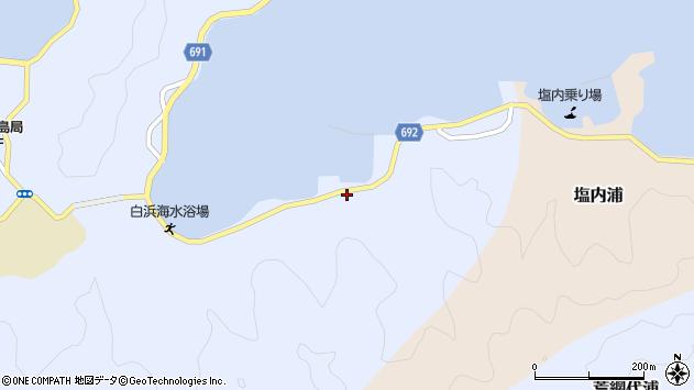 大分県佐伯市片神浦1347周辺の地図