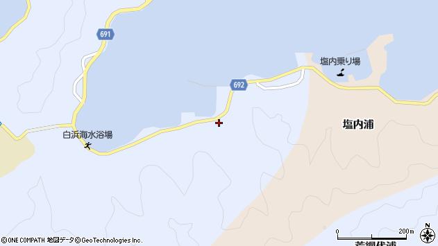 大分県佐伯市片神浦1334周辺の地図