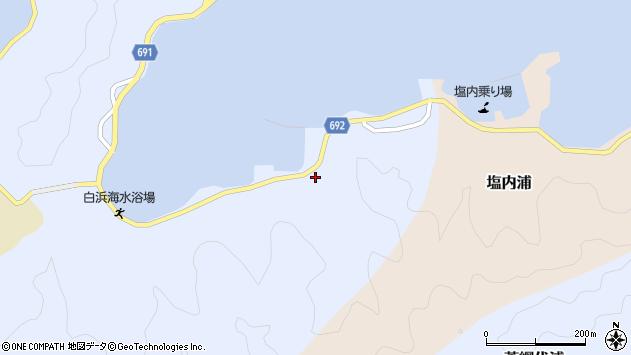 大分県佐伯市片神浦1335周辺の地図