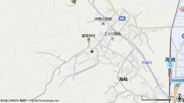 大分県佐伯市海崎2431周辺の地図