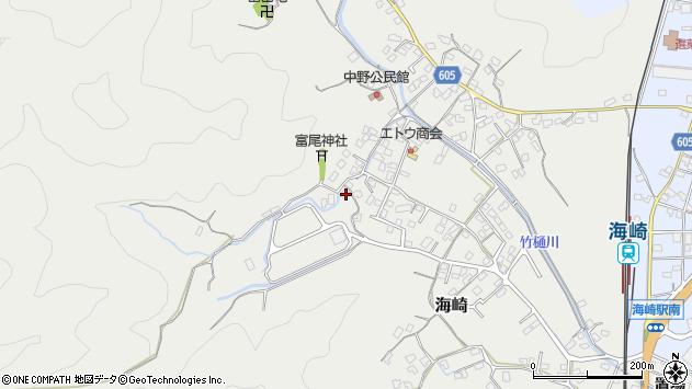 大分県佐伯市海崎2433周辺の地図